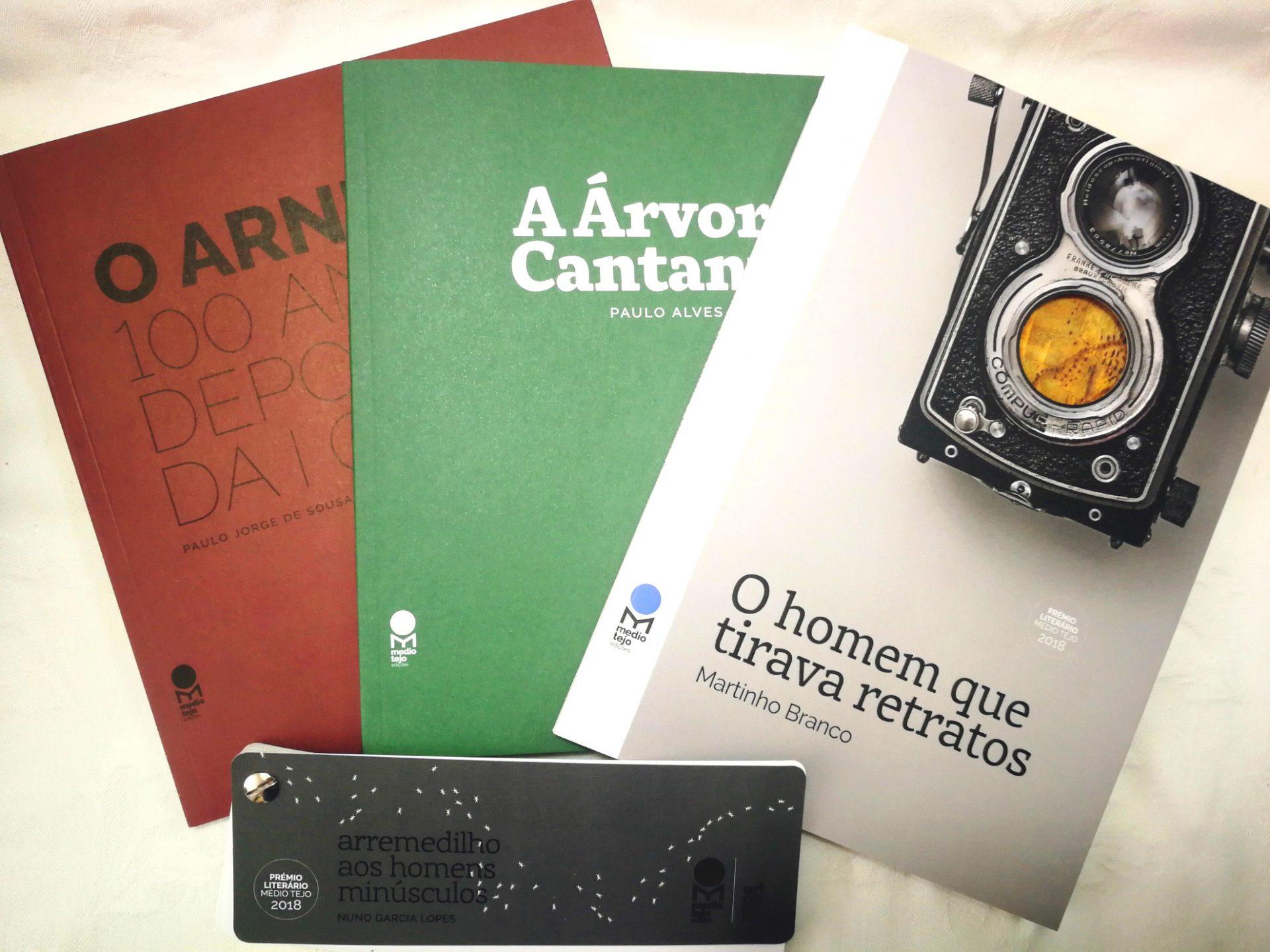 Livros premiados no Médio Tejo lançados na Feira do Livro de Lisboa